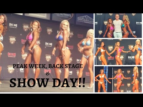 Peak week, back stage and show time!