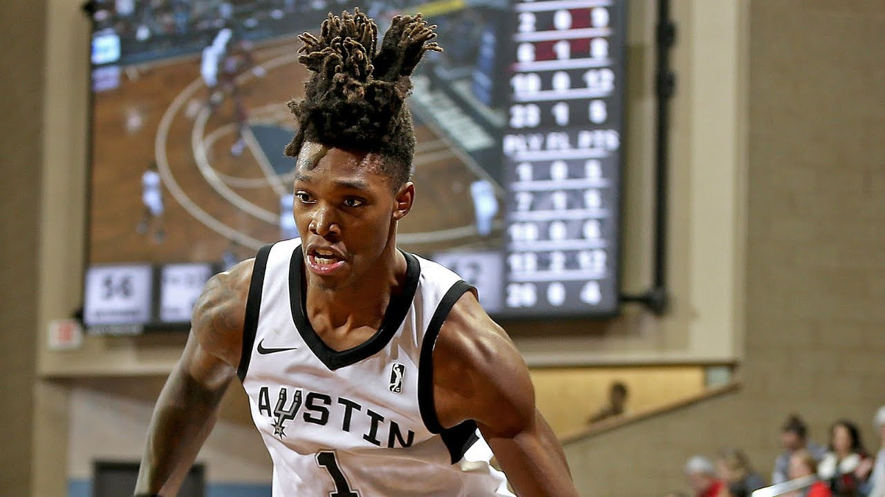 b3a4b9a85746 Spurs 1st Round Pick Lonnie Walker IV Drops Career-High 34 PTS On  Assignment With Austin Spurs