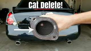 How To Delete Your Catalytic Converter!
