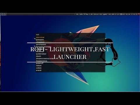 Rofi-A window switcher,run launcher, ssh dialog & dmenu replacement