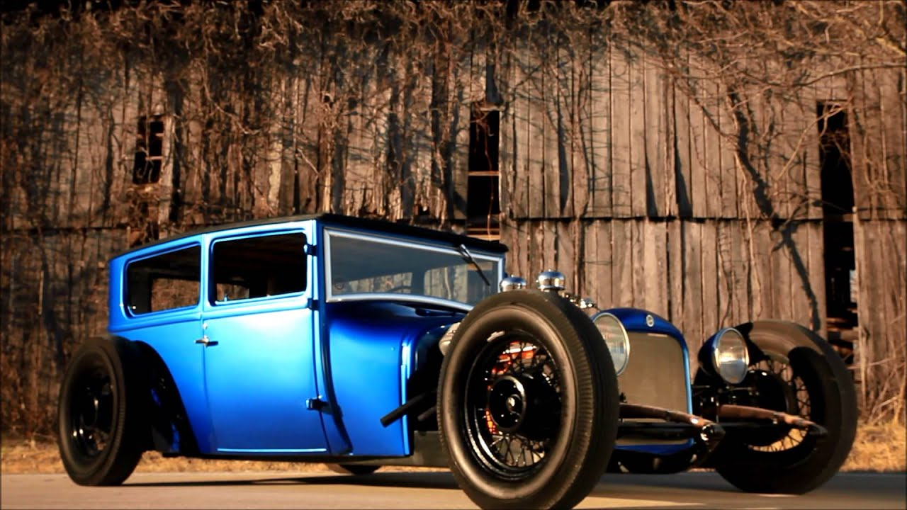 1927 Chopped Ford Model T Sedan Traditional Hot Rod, SCTA, FOR ...