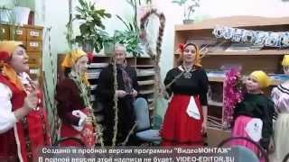 Коледа в библиотека ''Христо Ботев'' Кишинев