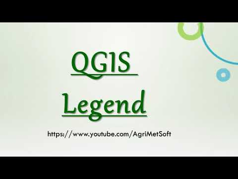 QGIS Creating a Map Legend
