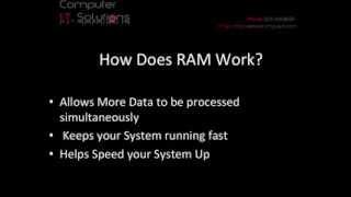 RAM - How RAM works & Understanding RAM Speeds
