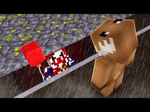 FINDING PENNYWISE *IT* CLOWN IN MINECRAFT! (NOT CLICKBAIT)