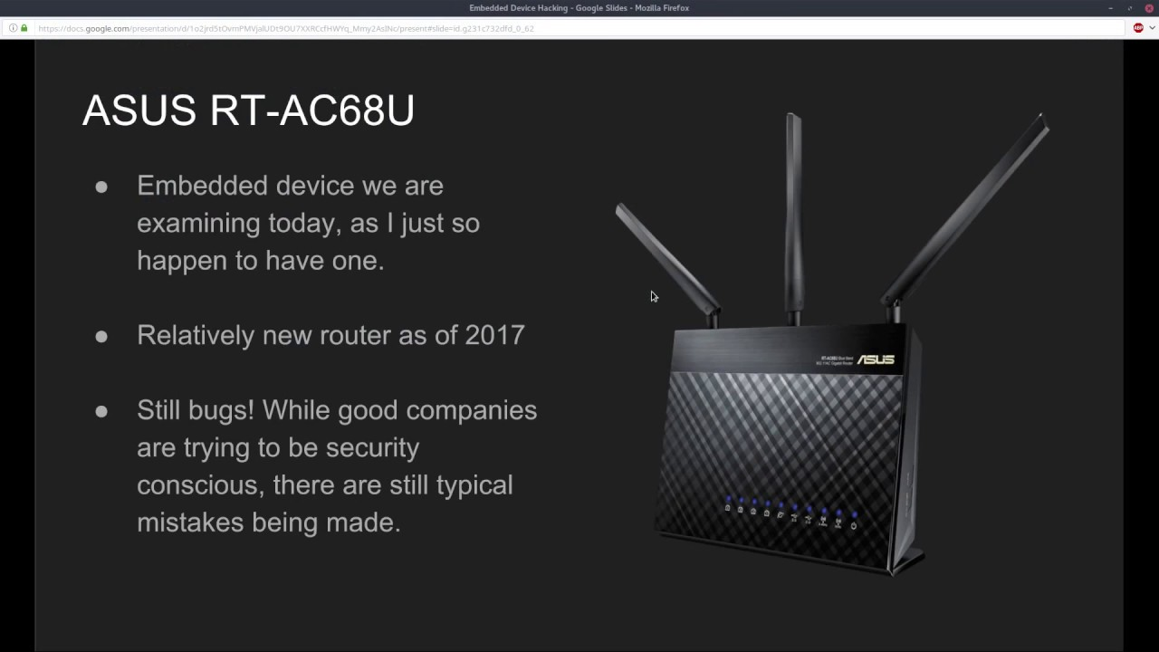 Embedded Device Hacking - ASUS RT-AC68U