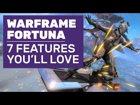 Hoverboard Racing, Improved Bounties And 7 Best Features In Warframe Fortuna thumbnail
