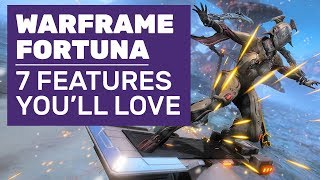 Hoverboard Racing, Improved Bounties And 7 Best Features In Warframe Fortuna