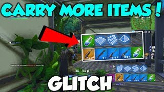 EXTRA Inventory Slot GLITCH in Fortnite! (6 ITEM Inventory) Fortnite Glitches Season 6 PS4/Xbox One