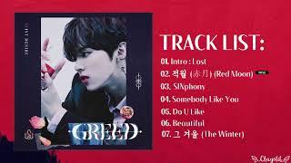 [Full Album] KIM WOOSEOK (김우석) - Solo Album '1ST DESIRE [GREED]'