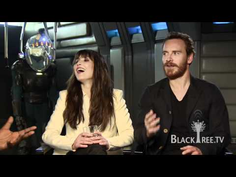 PROMETHEUS Interviews with Noomi Rapace and Michael Fassbender