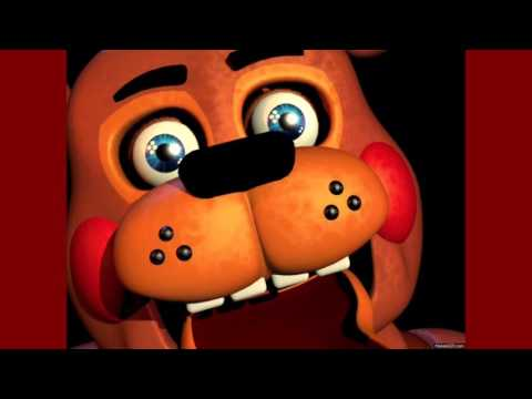 Toy Freddy sing drag me down