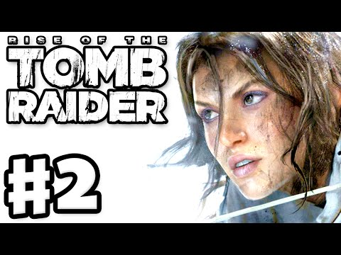 Rise of the Tomb Raider - Gameplay Walkthrough Part 2 - Bear Attack! (Xbox One)