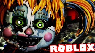 PLAY AS SALVAGED FUNTIME BABY! Five Nights at Freddys 6 Roblox (FNAF 6 Lefty Pizzeria)