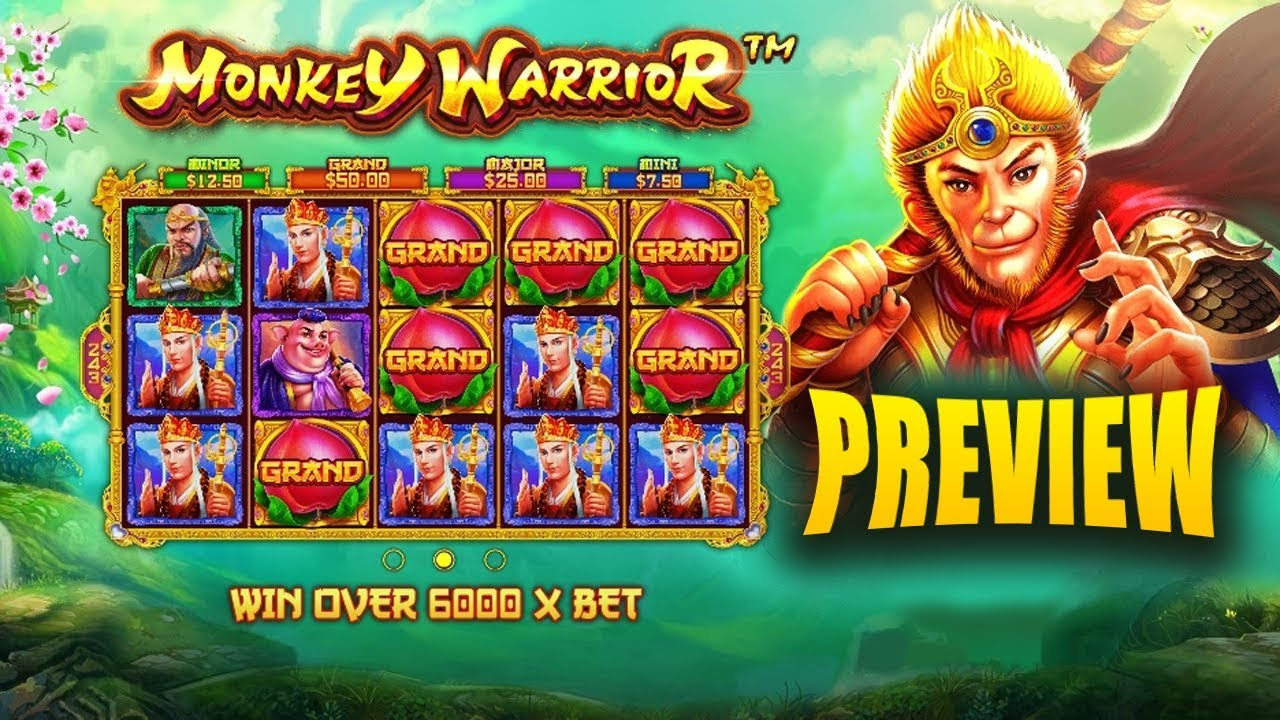 Monkey Warrior Slot from Pragmatic Play - Slot Preview - YouTube