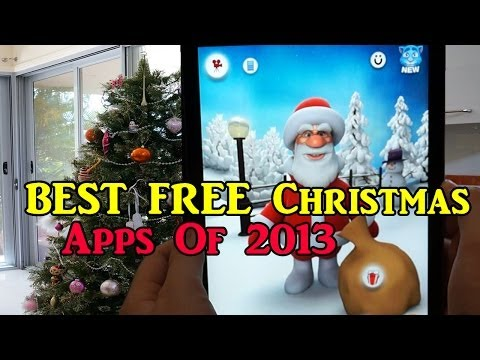 BEST FREE Christmas Apps Of 2013 IOS/Android
