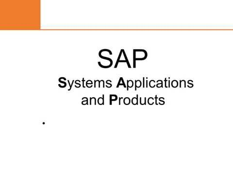 What is SAP & Role Of SAP Consultant