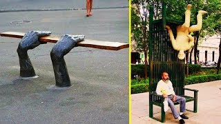 The Most Creative Benches And Seats Ever 「 funny photos 」