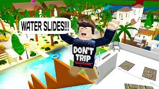 THE BEST BLOXBURG WATERPARK EVER BUILT IN ROBLOX!