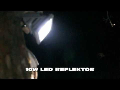 Led Floodlight Led Reflektor 10w 20w Youtube