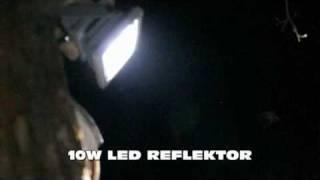 LED FLOODLIGHT / LED REFLEKTOR 10w 20W(LED reflektor použiteľný prakticky kdekoľvek na nasvetlenie rôznych plôch ako historické budovy, záhrady, reklamné tabule, prietory pred garážami, reklamné ..., 2011-04-11T11:25:14.000Z)