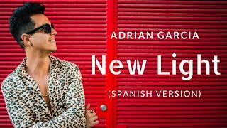 John Mayer - New Light (Spanish Version / Lyric Video) by Adrian Garcia