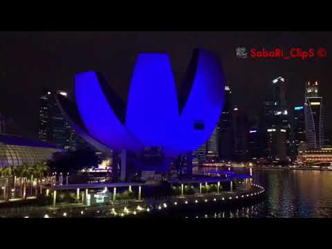 Lighting Effect | Marina bay Sands| Helix Bridge