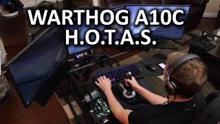 Thrustmaster Warthog A10C - The best H.O.T.A.S. out there?