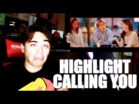 Highlight - CALLING YOU MV Reaction [SUCH AN EASY GOING SONG]