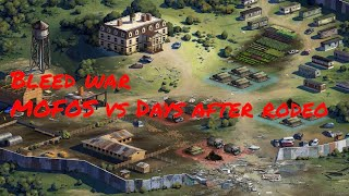 Bleed War - Mofos vs Days After Rodeo - The Walking Dead: Road To Survival TWD