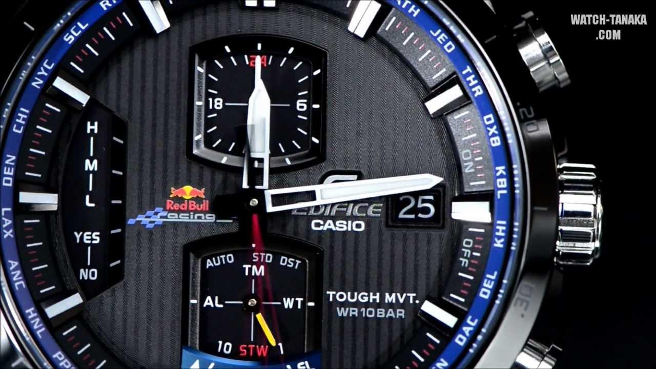 f13028e1a3 CASIO EDIFICE Red Bull Racing EQW-A1100RB-1AJR エディフィス ...