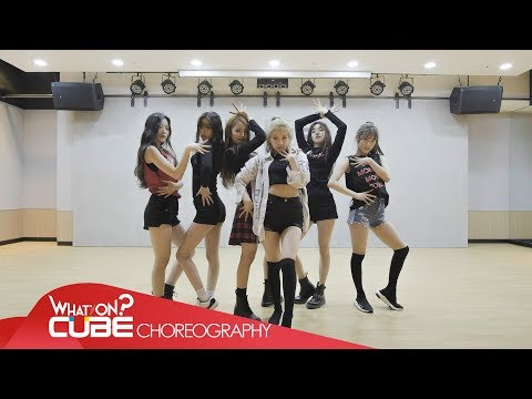 (여자)아이들((G)I-DLE) - LATATA (Choreography Practice Video)