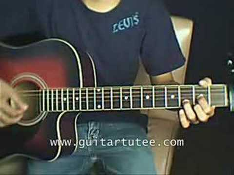 What Hurts The Most (of Rascal Flatts, by GuitarTutee.com) - YouTube