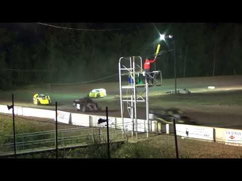 B MOD B Feature #2 at Mt. Pleasant Speedway, Michigan on 08-04-2017.