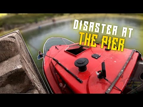 Boat Sea Fishing, DISASTER - HIS WIFES GONNA KILL HIM #1