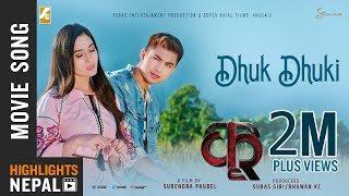 Dhuk Dhuki | New Nepali Movie KRI Song 2018 | Ft. Anmol KC, Ad…