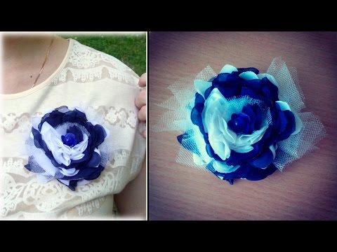 цветы из хб ткани своими руками