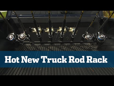 Rod Rack For Pick Up Trucks - Florida Sport Fishing TV Gear Guide