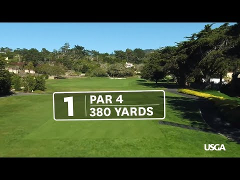 2019 U.S. Open at Pebble Beach: Hole 1