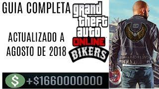 GTA ONLINE-COMO HACERTE MILLONARIO CON EL CLUB DE MOTEROS- GUIA COMPLETA ACTUALIZADO AGOSTO DE 2018
