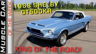 1968 Shelby GT500 KR Convertible: Muscle Car Of The Week Episode 268 V8TV