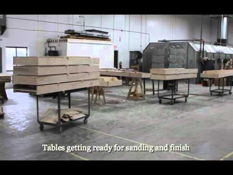The McClure Tables Shuffleboard Table Factory Tour