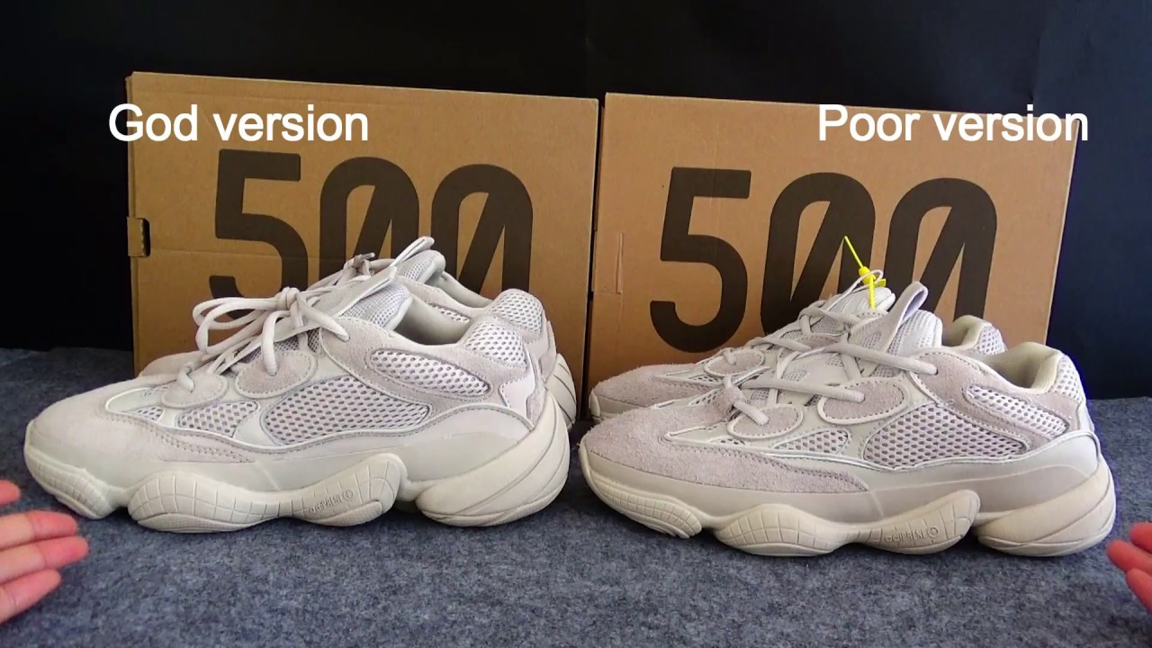 ae8b998ccca1b YEEZY 500 BLUSH REAL VS FAKE HD REVIEW. Is it the most hot yeezy 500 ...