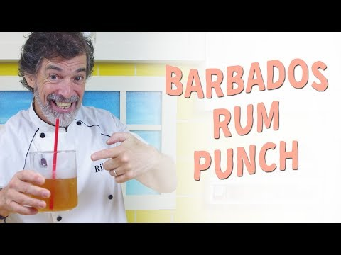 How to Concoct a Barbados Rum Punch and Relax Caribbean Style - Recipe