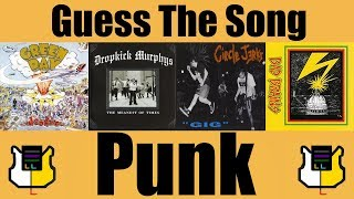Guess The Song: Punk Rock! | QUIZ