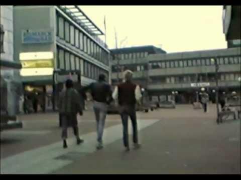Altona Bahnhof Und Alte City 31. Januar 1988