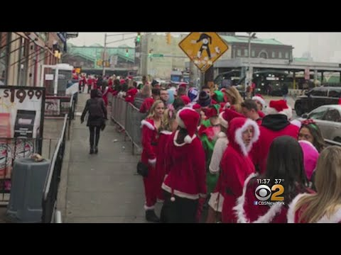 SantaCon Chaos In Hoboken