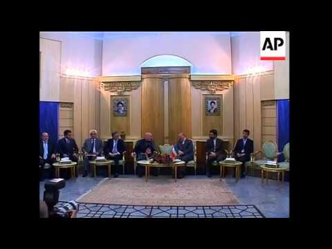 Afghan and Tajik presidents arrive for trilateral meeting with Ahmadinejad