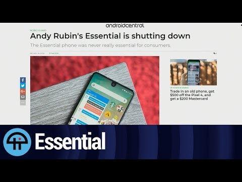 Andy Rubin And The End Of Essential