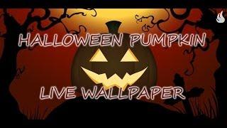 Halloween Pumpkin Live Wallpaper